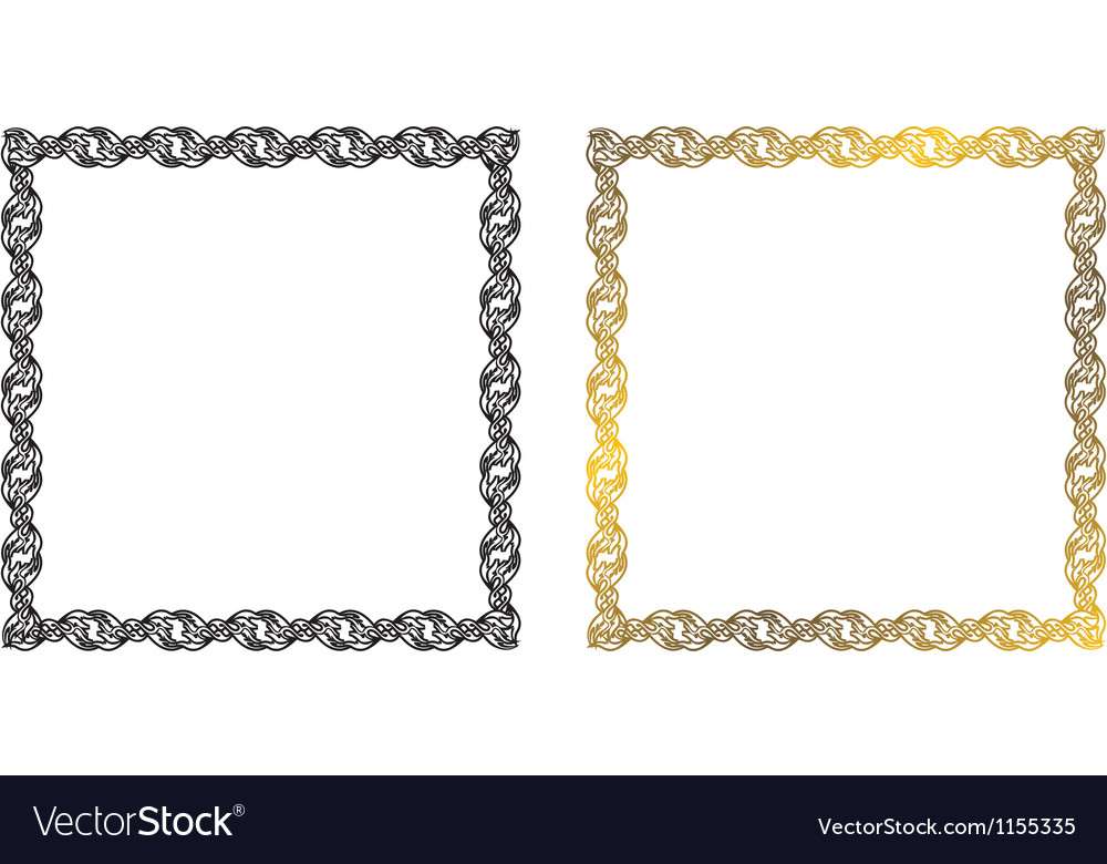 Frame of the chains vector | Price: 1 Credit (USD $1)