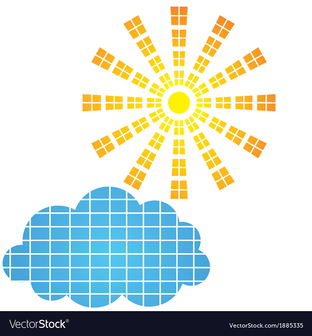 Sun icon and design element vector | Price: 1 Credit (USD $1)