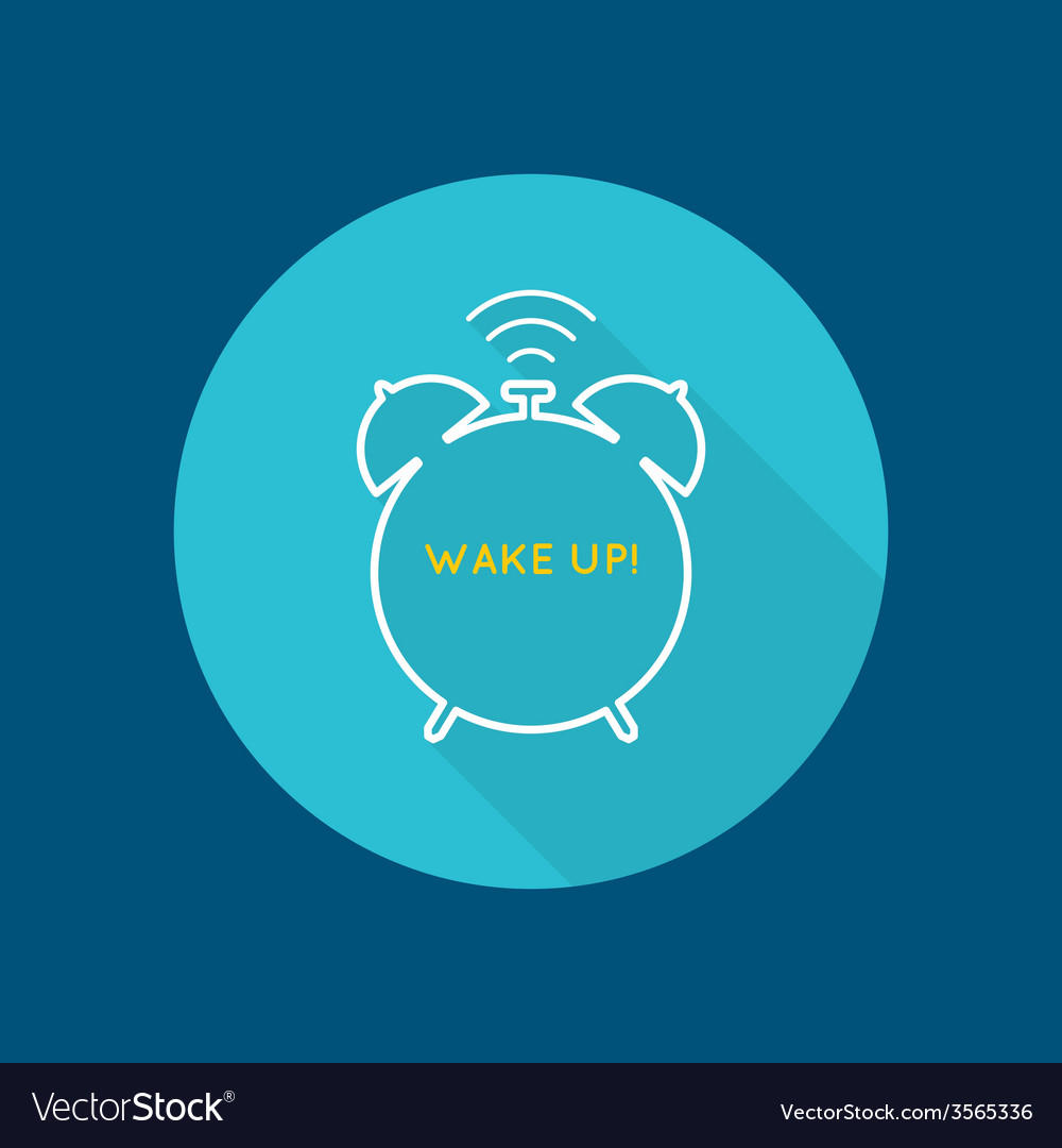 Background with alarm clock vector | Price: 1 Credit (USD $1)