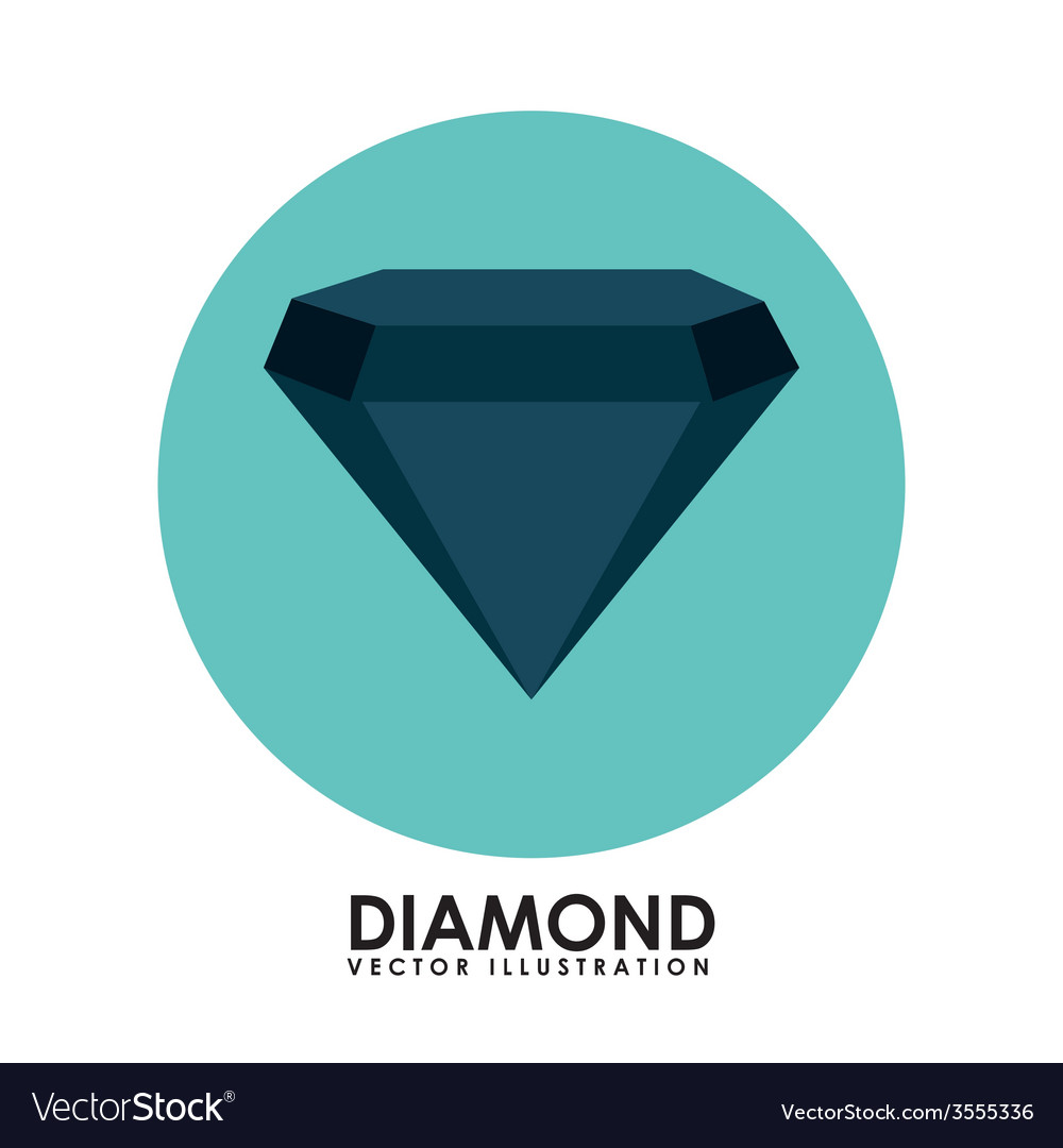 Diamond icon vector | Price: 1 Credit (USD $1)