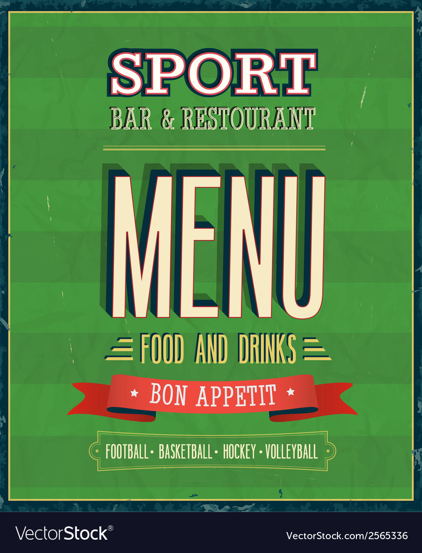 Sport bar vector | Price: 1 Credit (USD $1)
