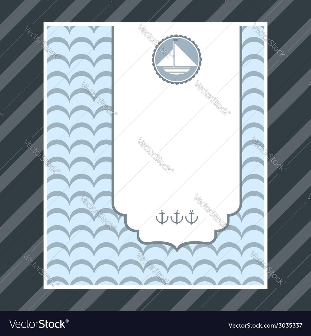 Boy birthday card vector | Price: 1 Credit (USD $1)
