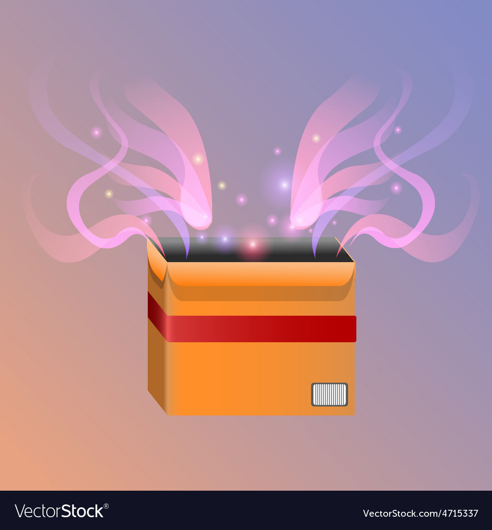 Magic box vector | Price: 1 Credit (USD $1)