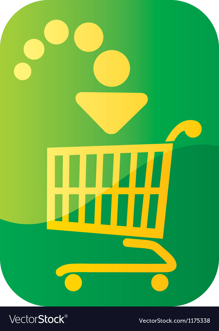Add to cart button vector | Price: 1 Credit (USD $1)