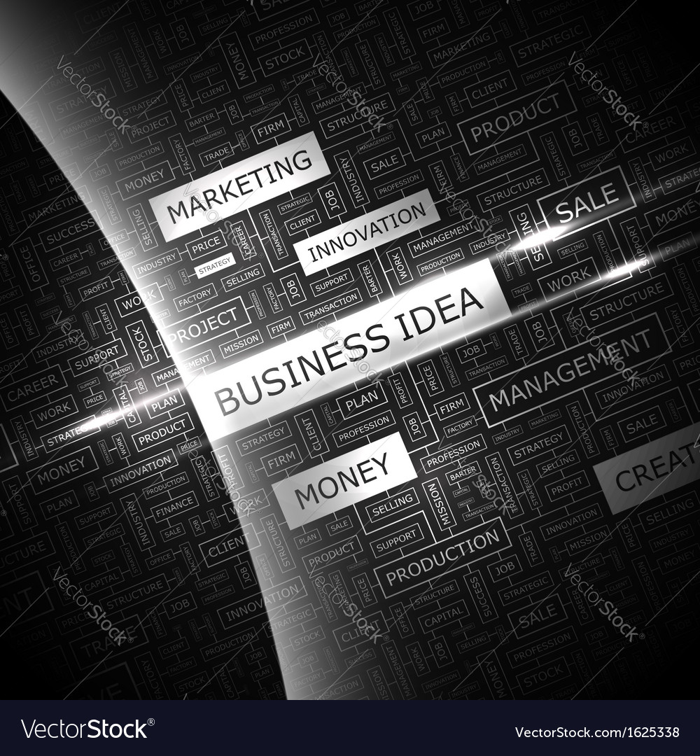 Business idea vector | Price: 1 Credit (USD $1)
