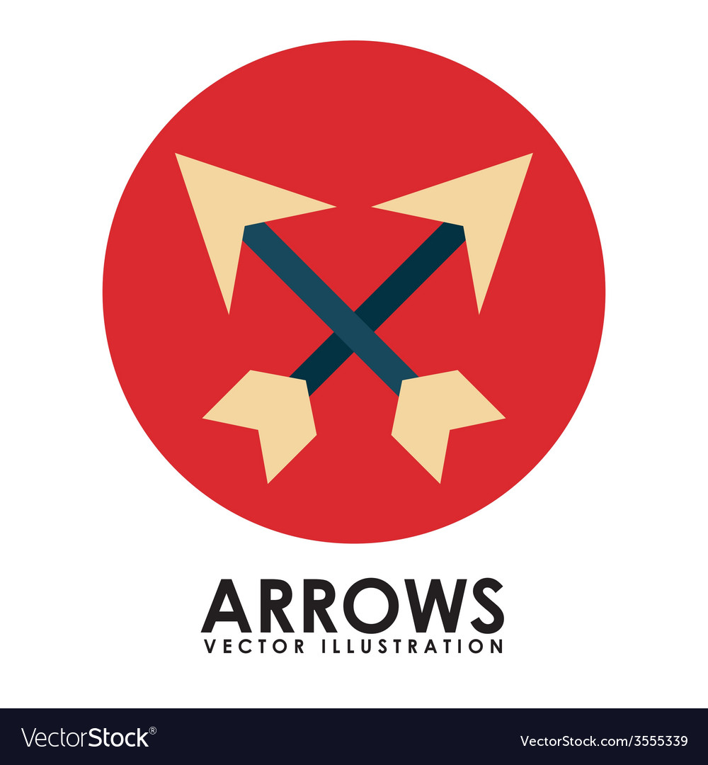 Arrows icon vector | Price: 1 Credit (USD $1)