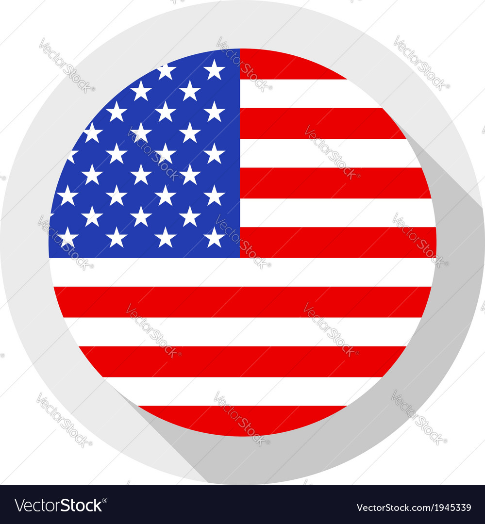 Flag of usa vector | Price: 1 Credit (USD $1)