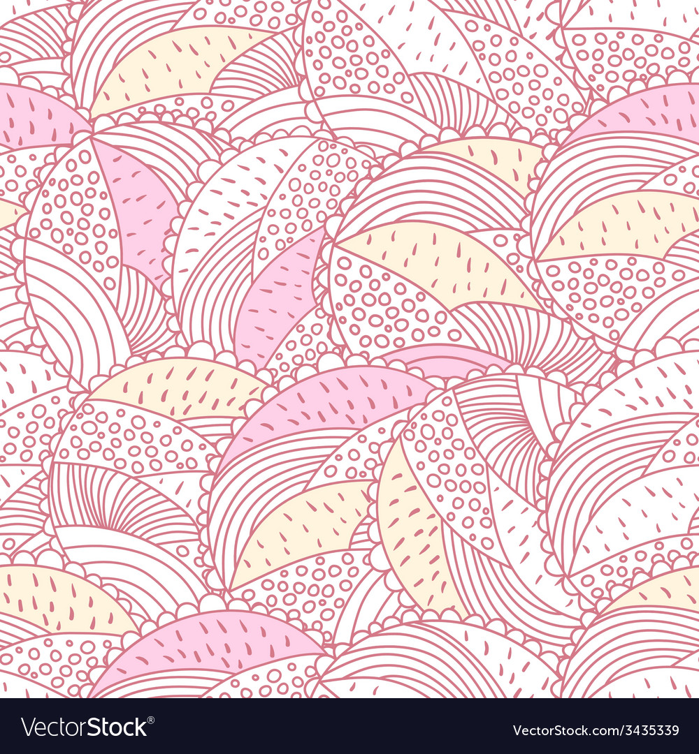 Green and pink doodle vector | Price: 1 Credit (USD $1)