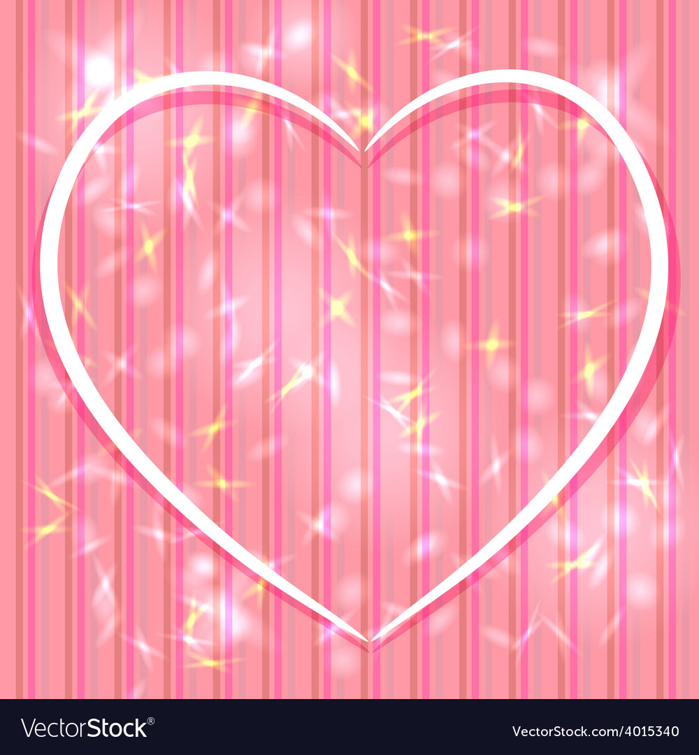 Abstract pink background with stripes light glare vector | Price: 1 Credit (USD $1)