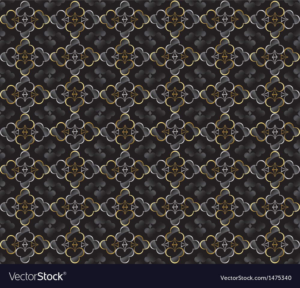 Abstract poker and casino background vector | Price: 1 Credit (USD $1)