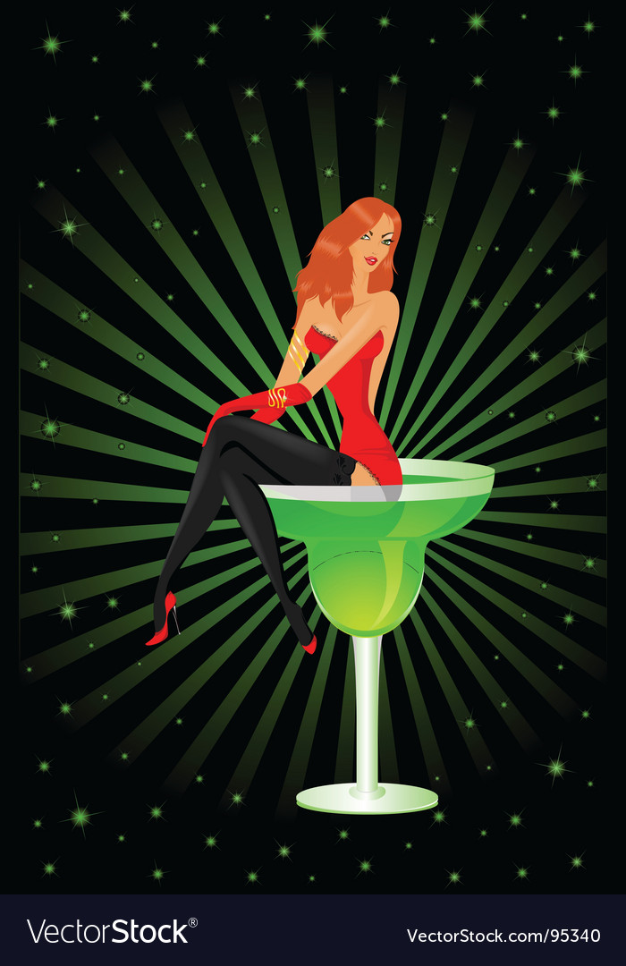 Barmaid diva vector | Price: 3 Credit (USD $3)
