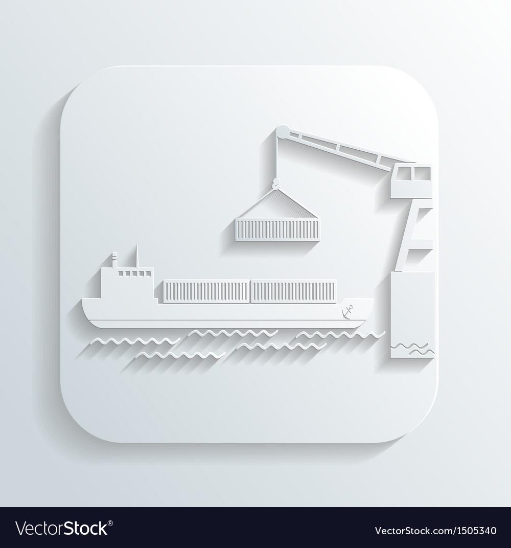 Shipment icon vector | Price: 1 Credit (USD $1)