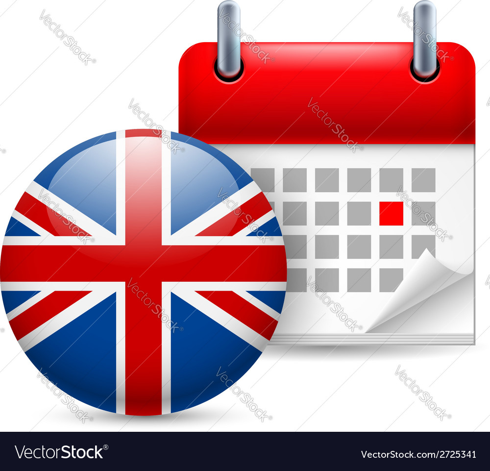 Icon of national day in great britain vector | Price: 1 Credit (USD $1)