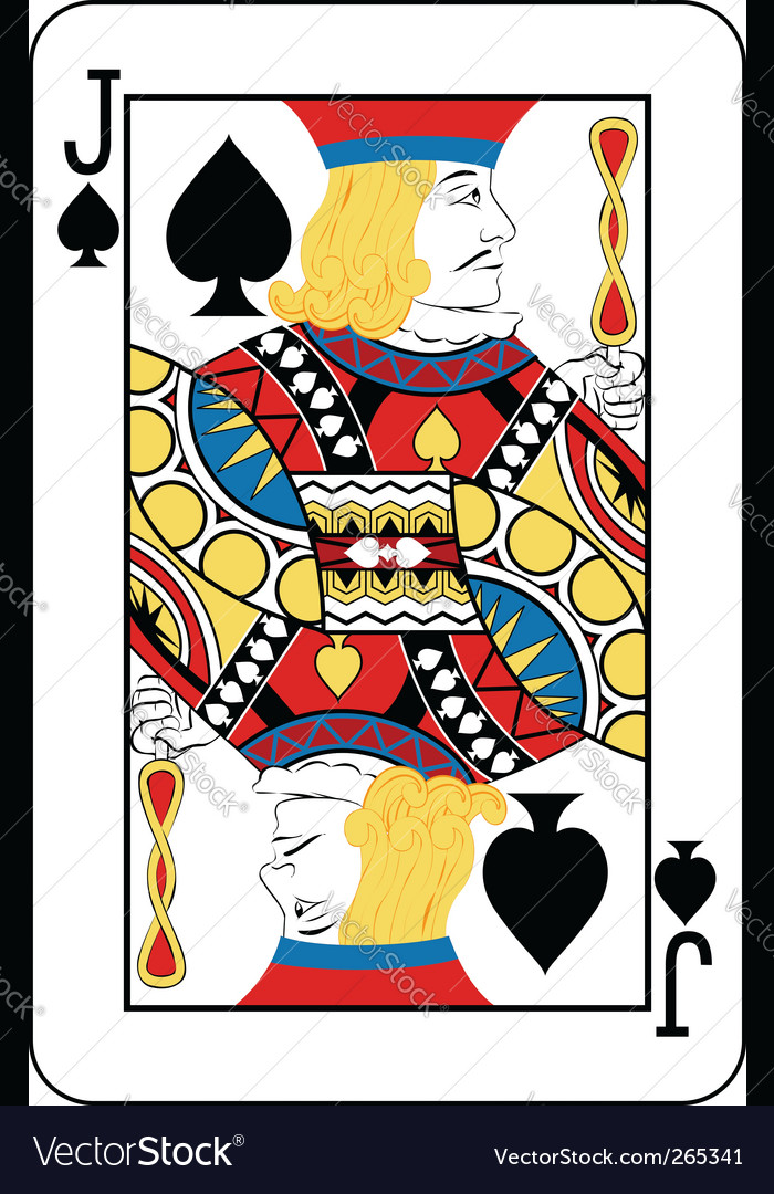 Jack of spades vector | Price: 1 Credit (USD $1)