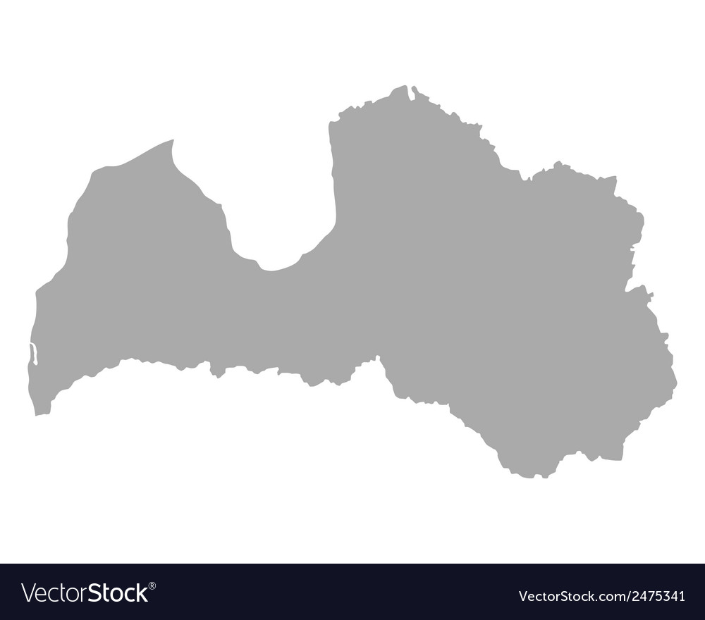Map of latvia vector | Price: 1 Credit (USD $1)
