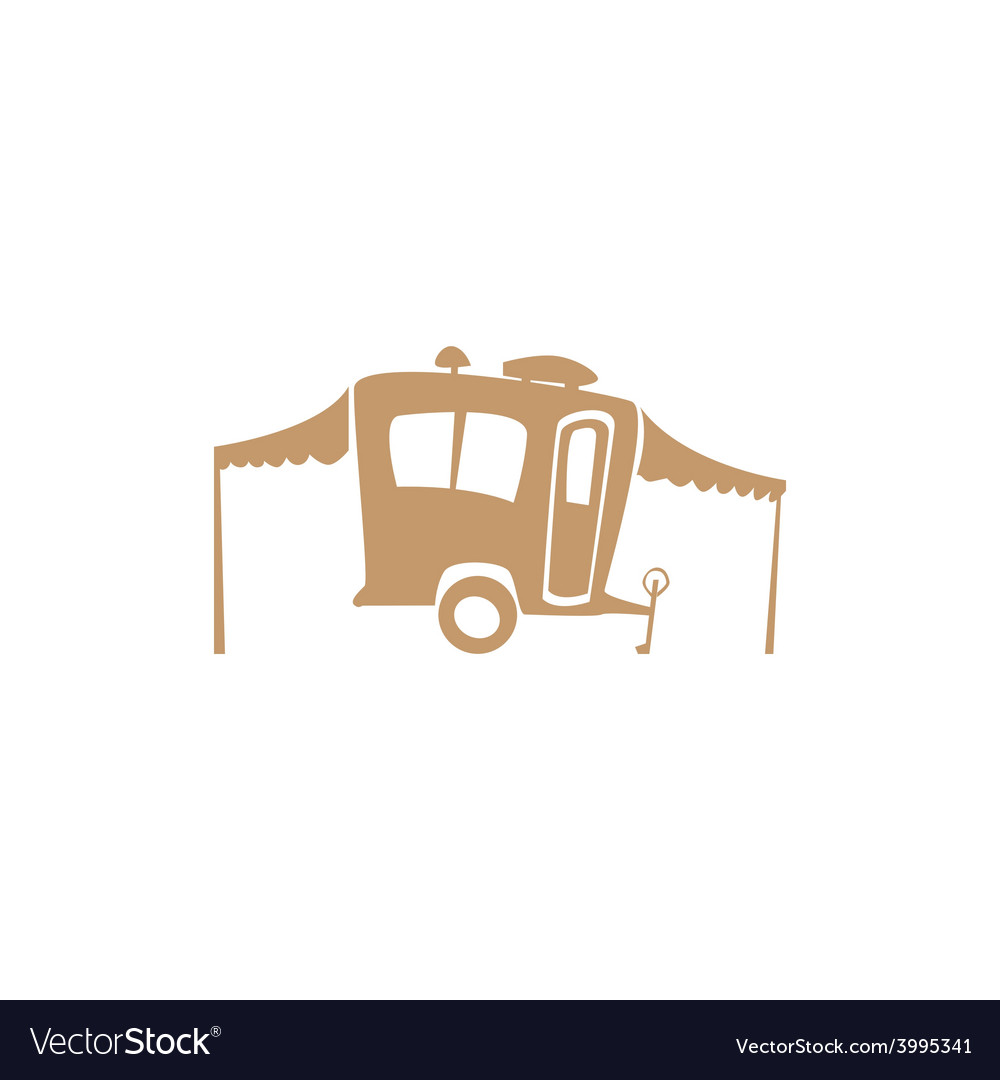 Recreational vehicle vector | Price: 1 Credit (USD $1)