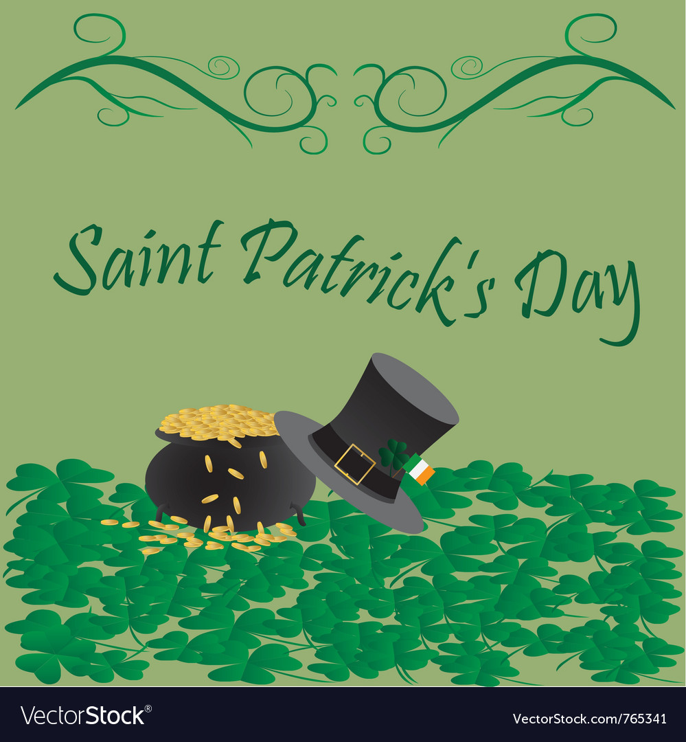 Saint patricks day vector   Price: 1 Credit (USD $1)