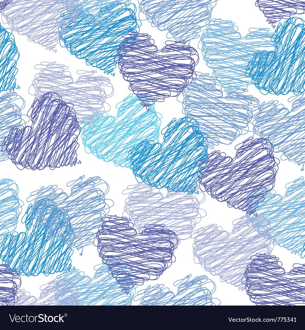 Valentine seamless pattern vector | Price: 1 Credit (USD $1)