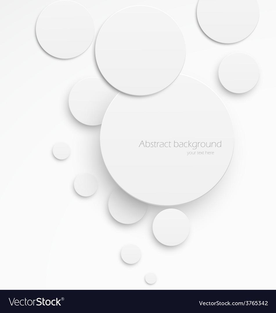 Paper circles vector | Price: 1 Credit (USD $1)