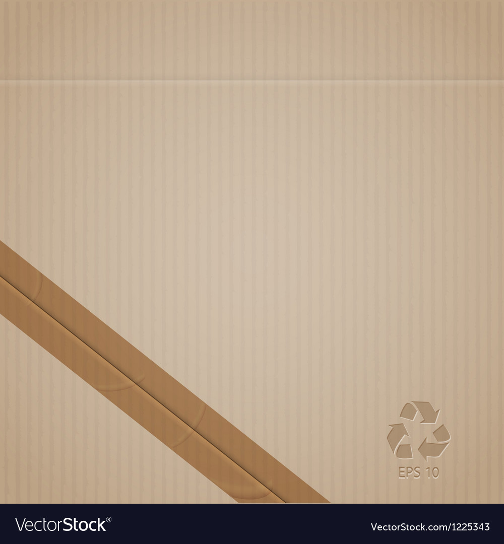 Cardboard vector | Price: 1 Credit (USD $1)