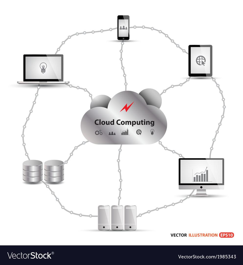 Cloud4 vector | Price: 1 Credit (USD $1)