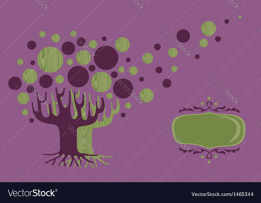 Global diversity tree greeting card vector   Price: 1 Credit (USD $1)