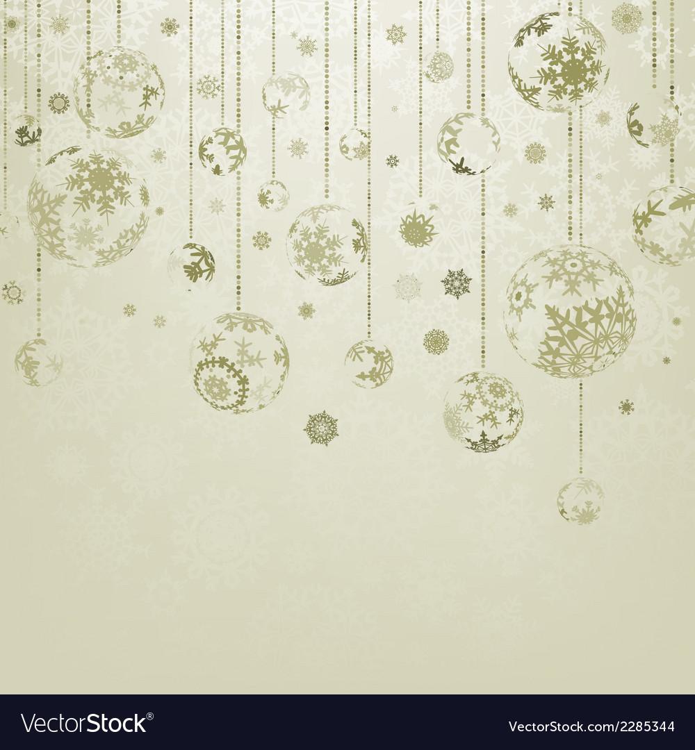 Merry christmas vintage elegant card eps 8 vector | Price: 1 Credit (USD $1)