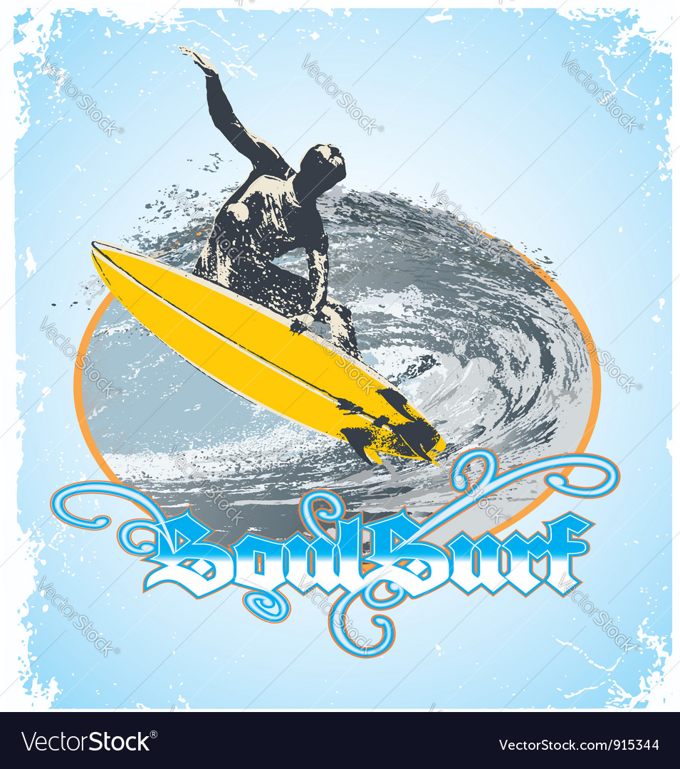 Soul surf vector | Price: 1 Credit (USD $1)