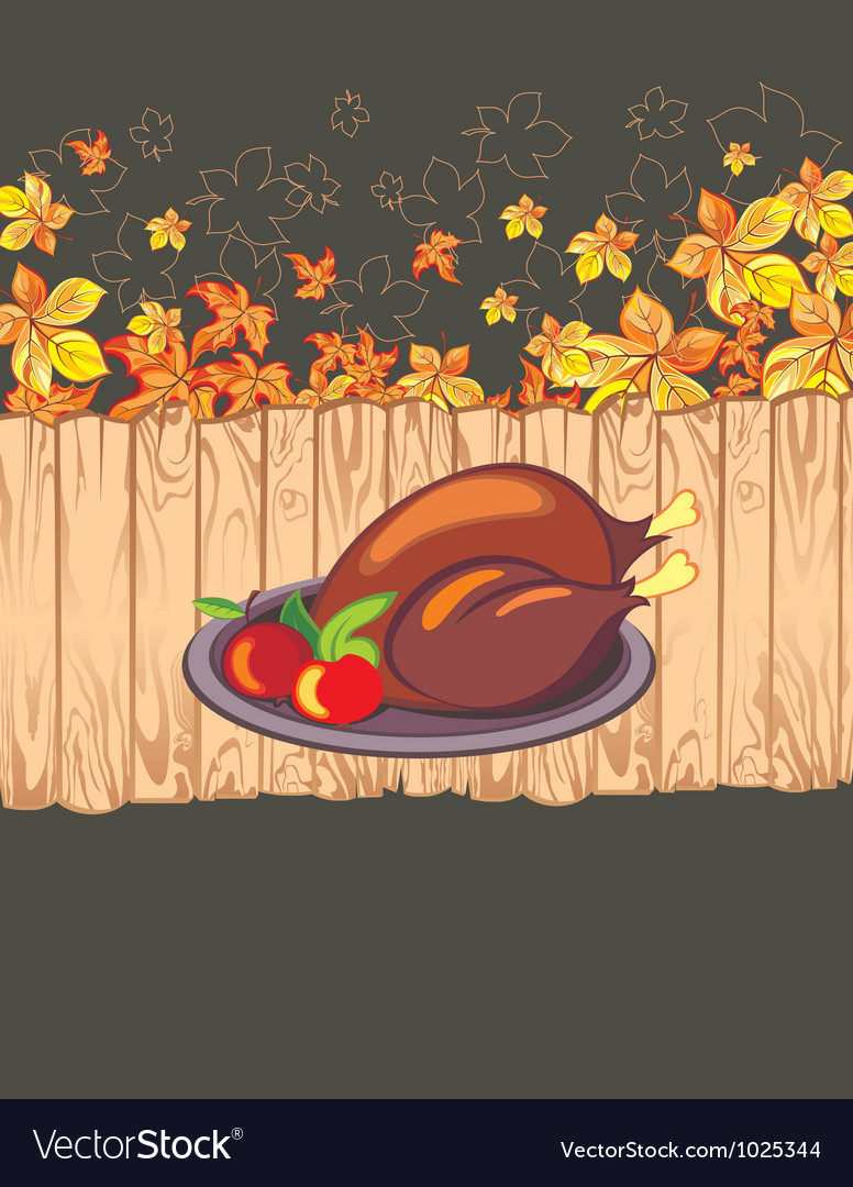 Thanksgiving celebration banner vector | Price: 1 Credit (USD $1)