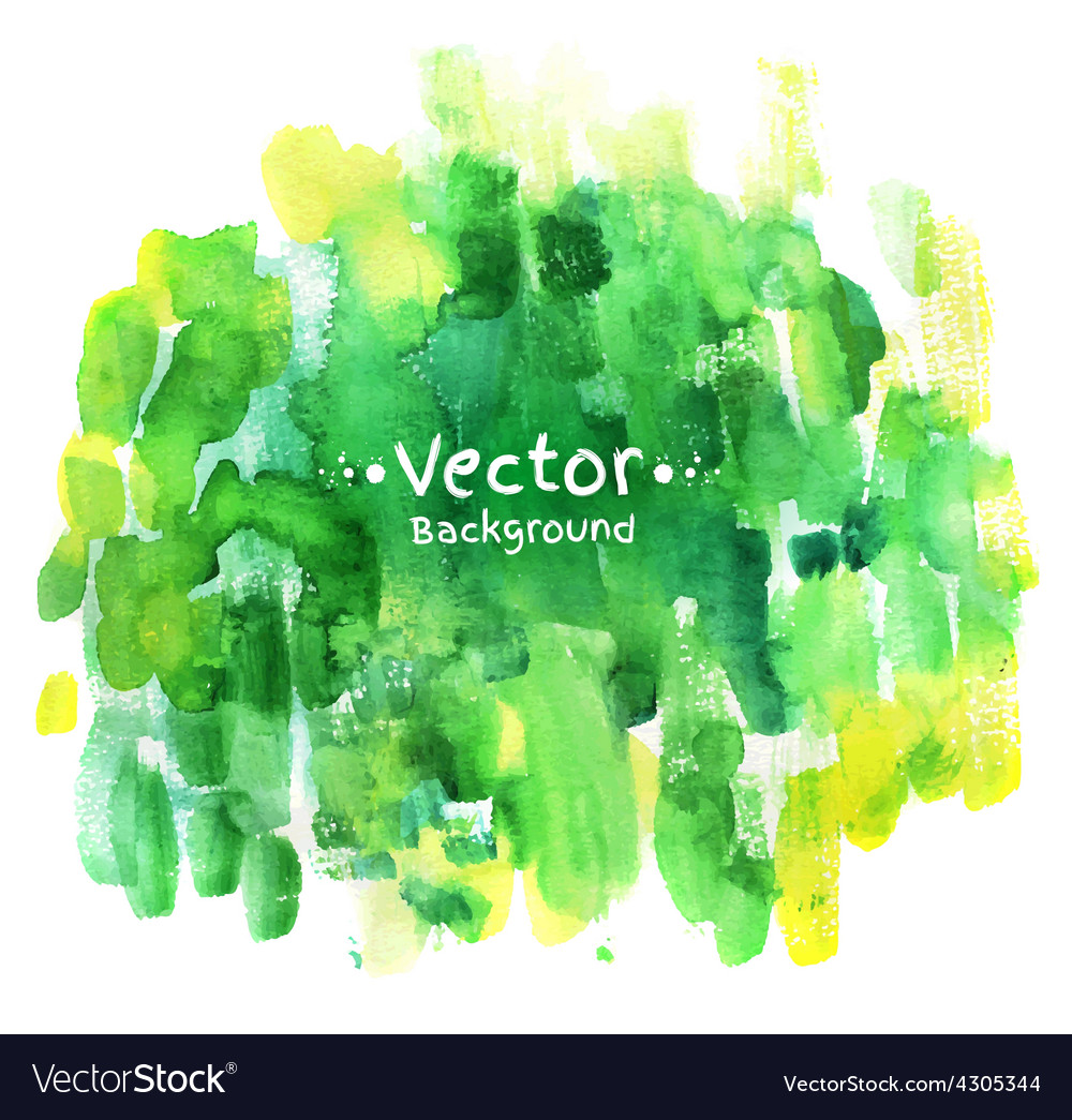 Watercolor hand painted background vector | Price: 1 Credit (USD $1)