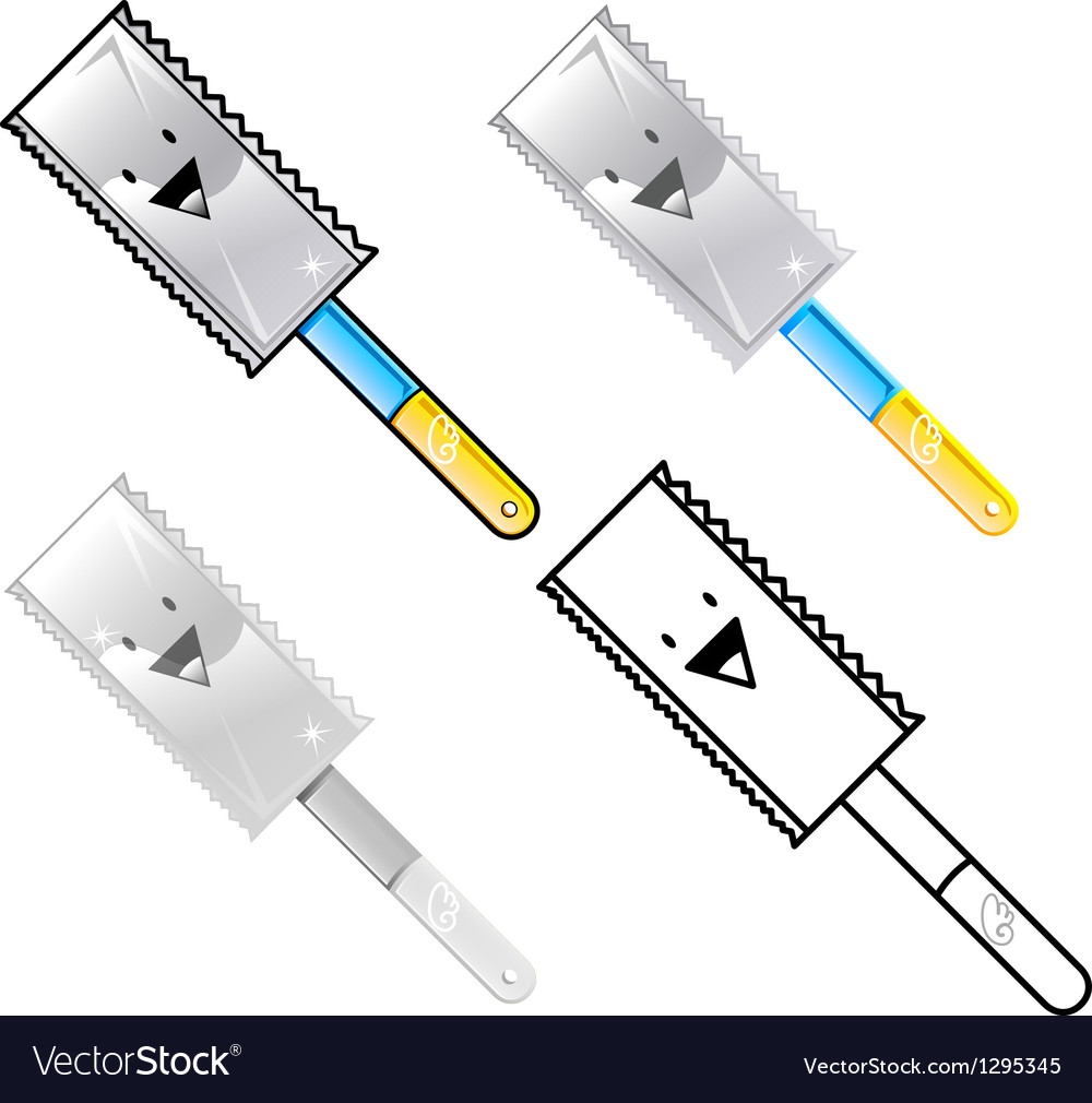 Different styles of saw sets vector | Price: 1 Credit (USD $1)