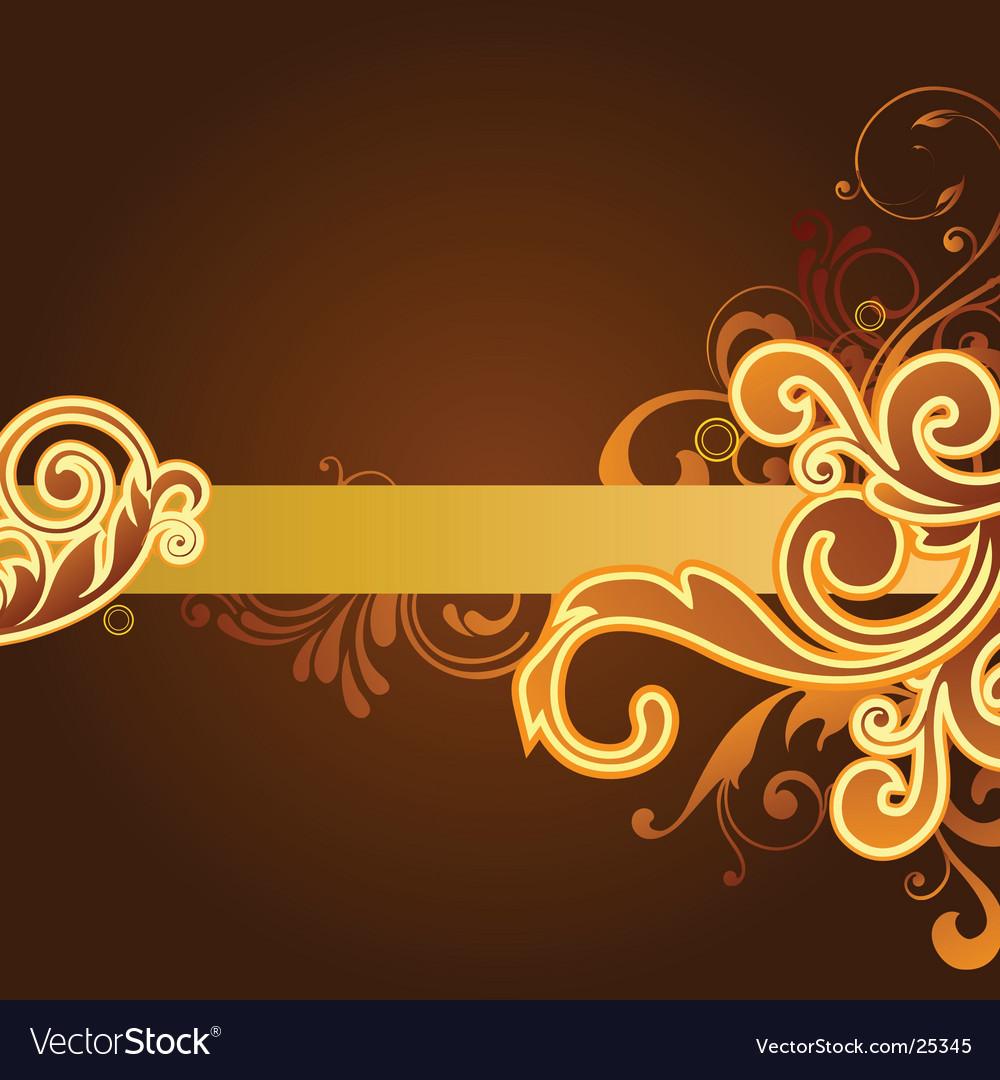 Floral design graphic vector | Price: 1 Credit (USD $1)