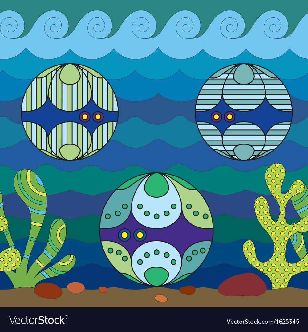 Mollusks vector | Price: 1 Credit (USD $1)