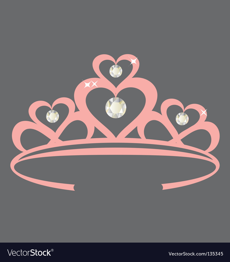 Princess crown vector | Price: 1 Credit (USD $1)