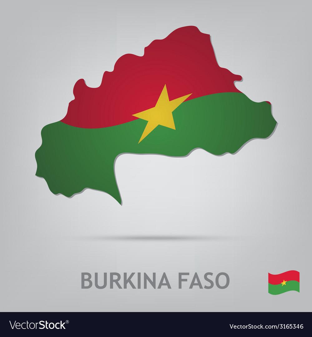 Burkina faso vector | Price: 1 Credit (USD $1)