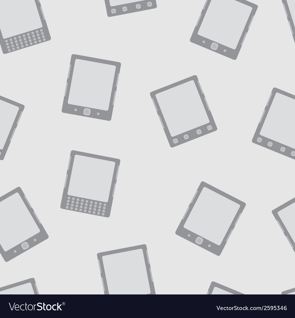 E-book reader minimal seamless pattern vector | Price: 1 Credit (USD $1)