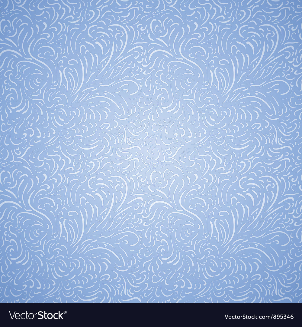 Seamless frost decor pattern vector | Price: 1 Credit (USD $1)