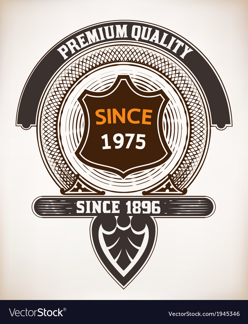 Vintage design vector | Price: 1 Credit (USD $1)