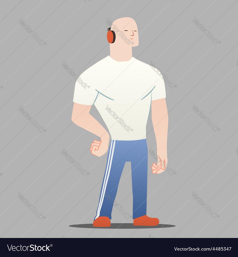 Big man vector | Price: 1 Credit (USD $1)