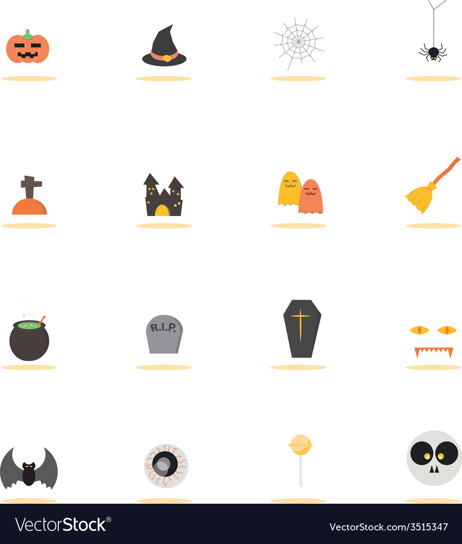 Icon halloween vector | Price: 1 Credit (USD $1)