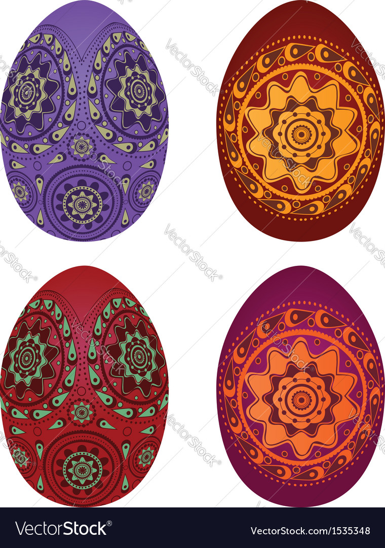 Colorful easter eggs3 vector   Price: 1 Credit (USD $1)