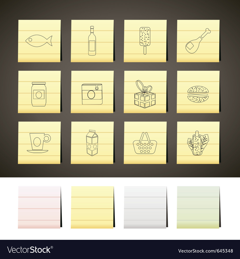 Food and drink icons 1 vector | Price: 1 Credit (USD $1)