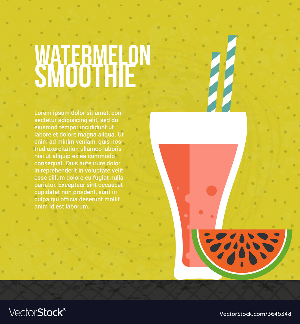 Fresh smoothie vector | Price: 1 Credit (USD $1)