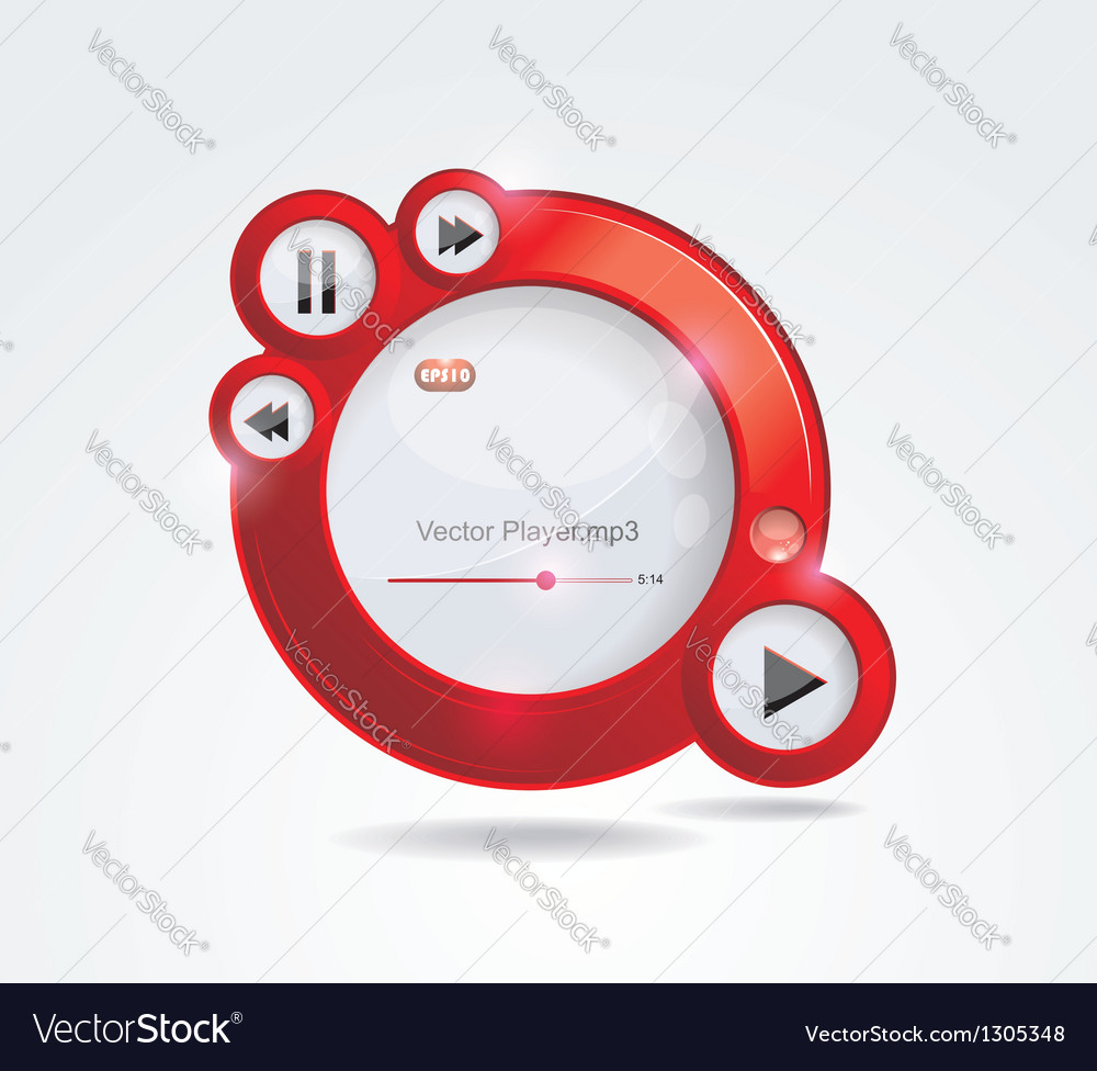 Light web elements vector | Price: 1 Credit (USD $1)