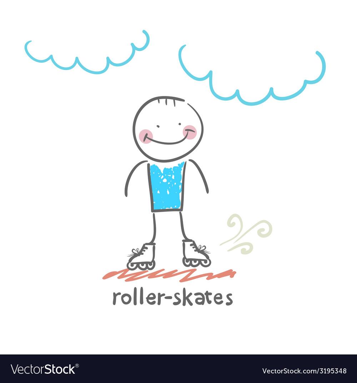 Roller-skates vector | Price: 1 Credit (USD $1)
