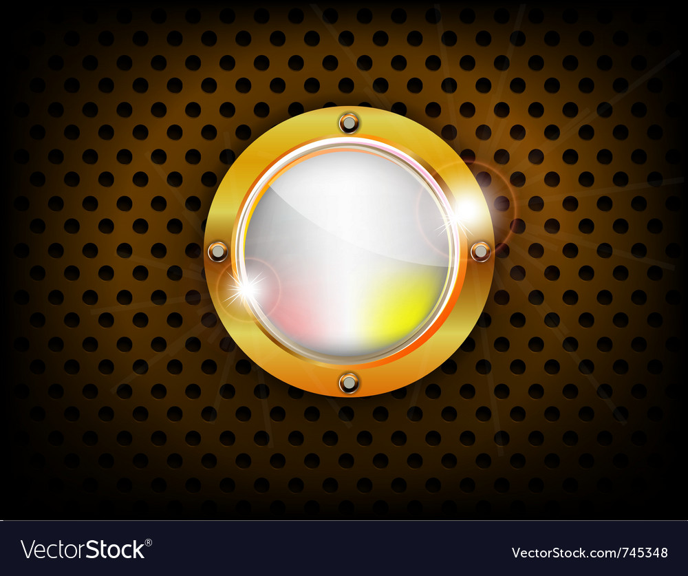 Shiny button vector | Price: 1 Credit (USD $1)