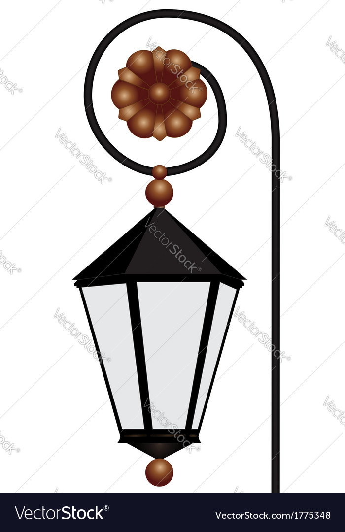 Streetlight vector | Price: 1 Credit (USD $1)