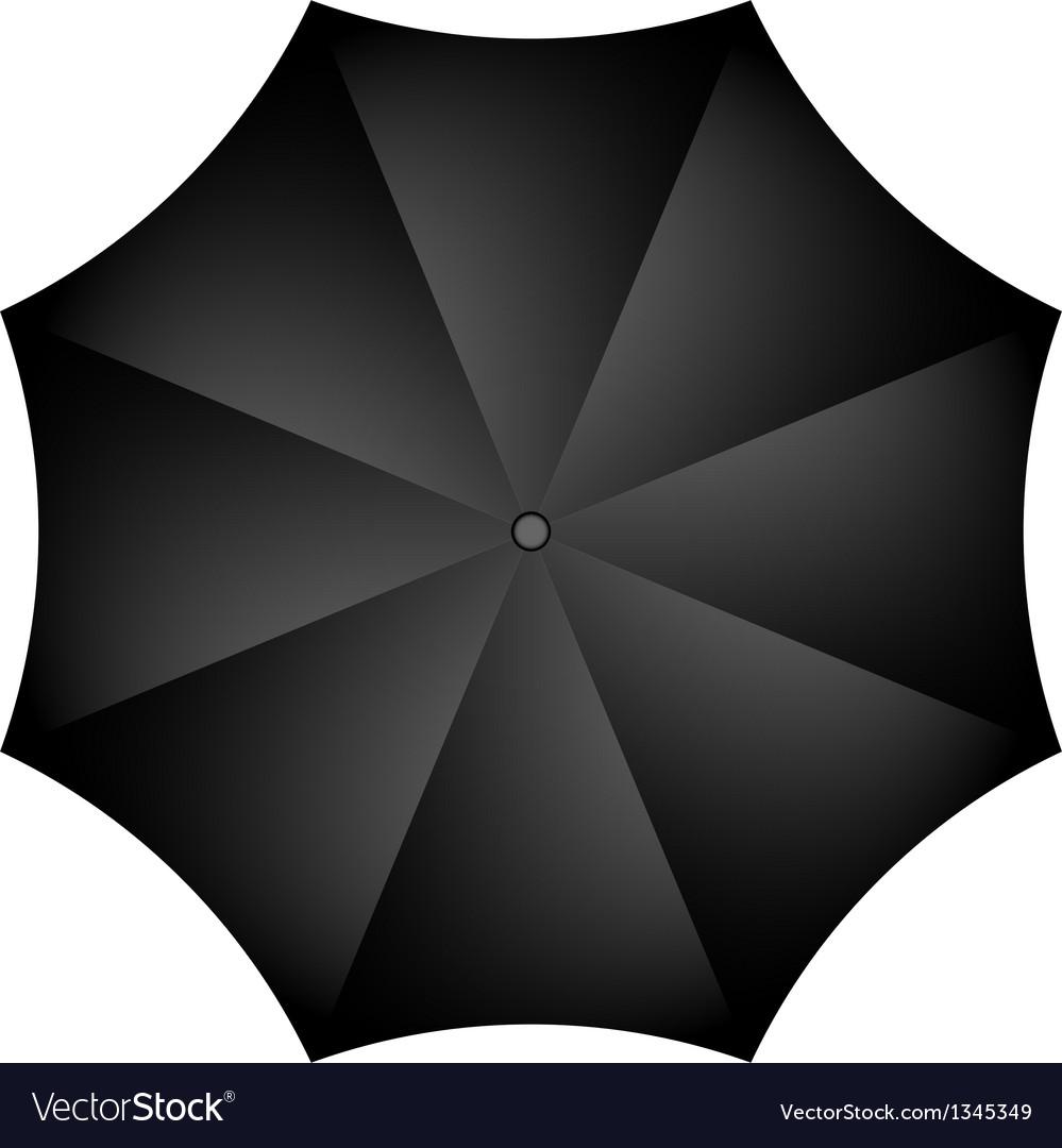 Black umbrella vector | Price: 1 Credit (USD $1)