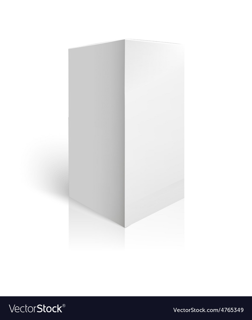 White package box mockup template vector   Price: 1 Credit (USD $1)