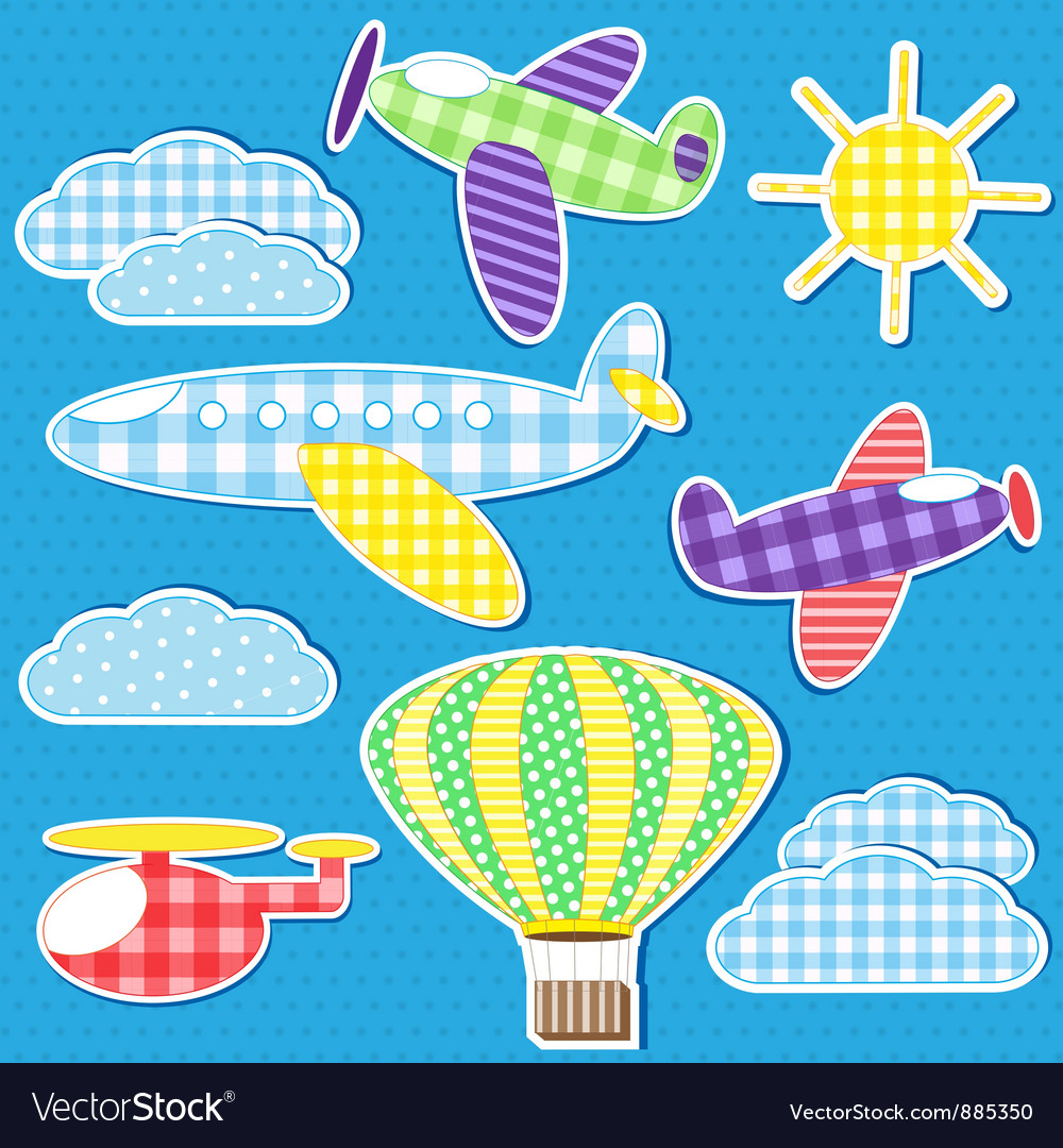 Air transport vector | Price: 1 Credit (USD $1)